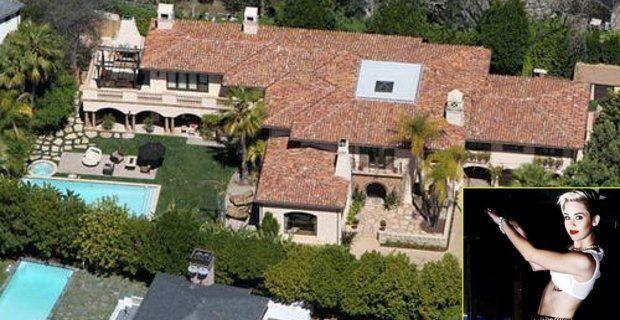 La casa de Miley Cyrus