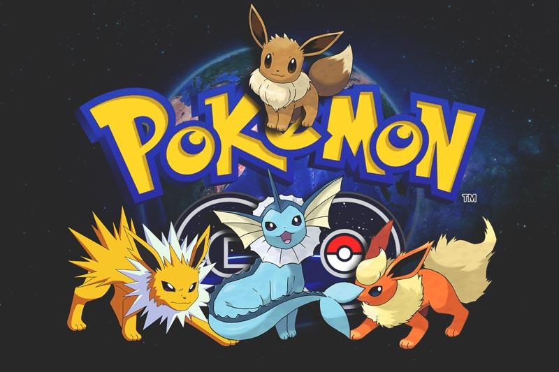 Conseguir a Eevee, vaporeon, flareon y jolteon en Pokémon GO?