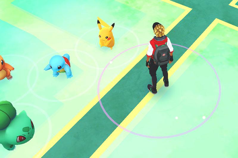 Encontrar a Pikachu en Pokemon Go