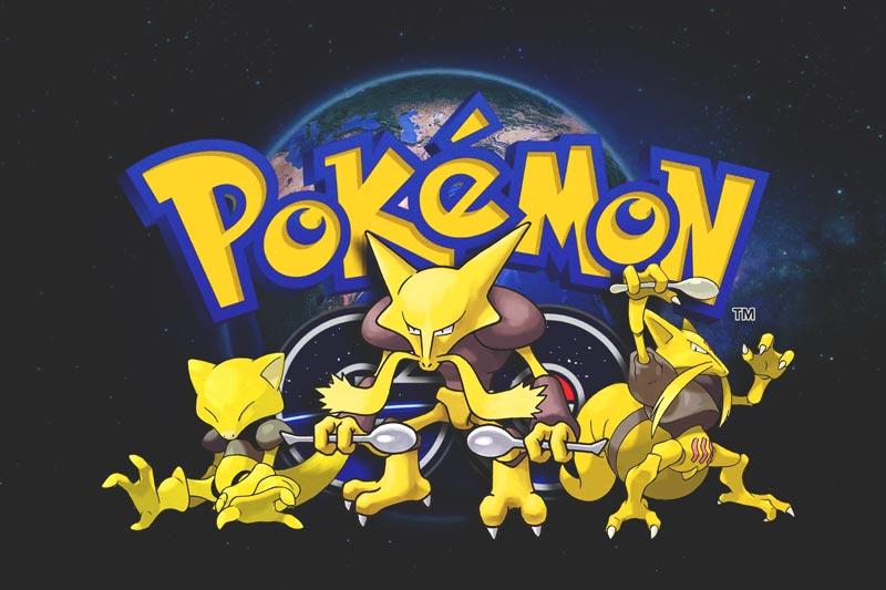 Capturar a Abra, Kadabra y Alakazam en Pokémon GO