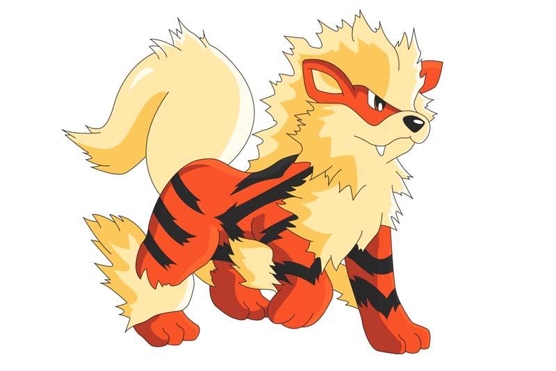 Mejor Pokémon tipo fuego: ARCANINE