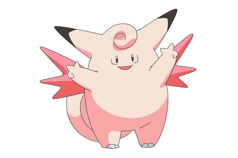 Mejor Pokémon tipo hada: CLEFABLE
