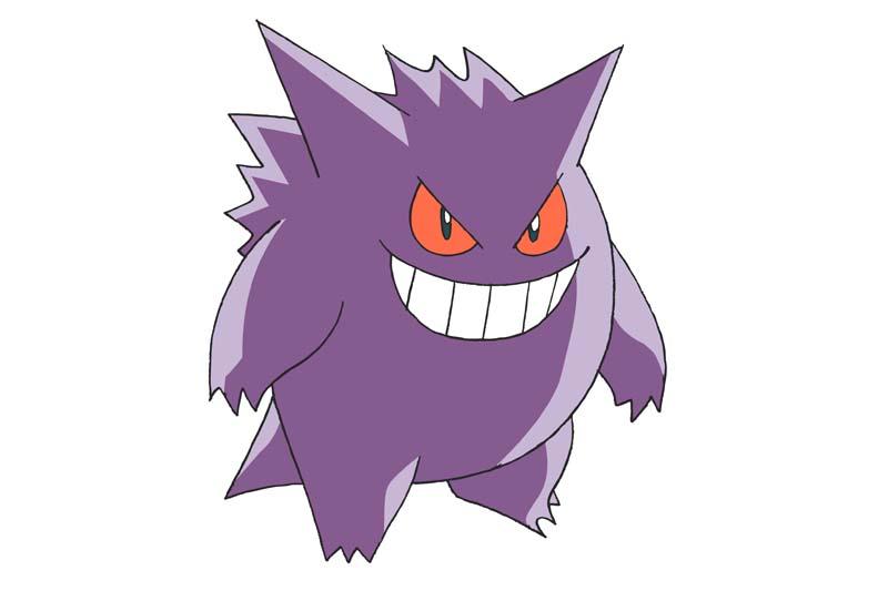Mejor Pokémon tipo fantasma: GENGAR