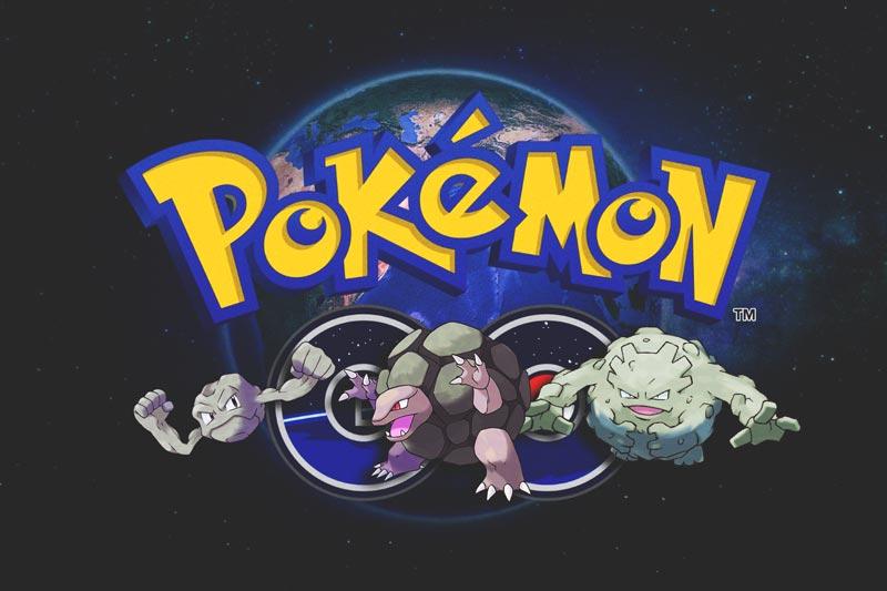 Capturar a Geodude, Graveler y Golem en Pokemon GO
