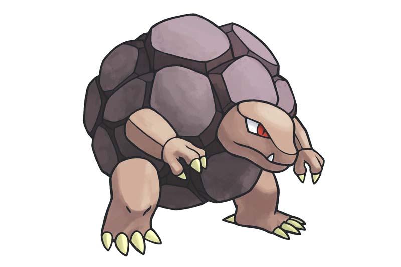 Mejor Pokémon tipo tierra: GOLEM