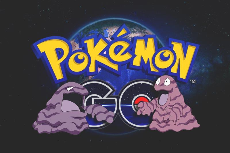 Capturar a Grimer y Muk en Pokemon GO