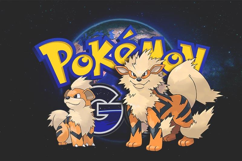 ¿Dónde capturar a Growlithe y Arcanine en Pokémon GO?
