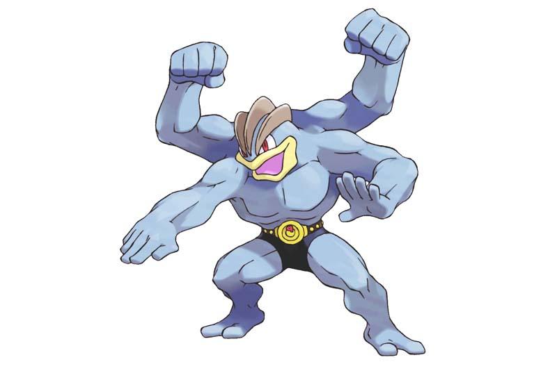 Mejor Pokémon tipo luchador: MACHAMP