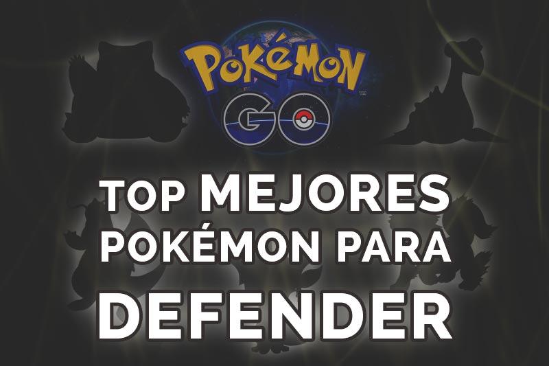 Mejores pokémon defensivos de Pokémon GO