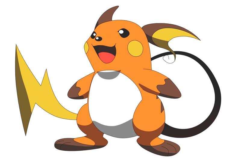 Mejor Pokémon tipo eléctrico: RAICHU