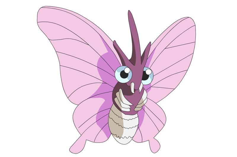Mejor Pokémon tipo bicho: VENOMOTH