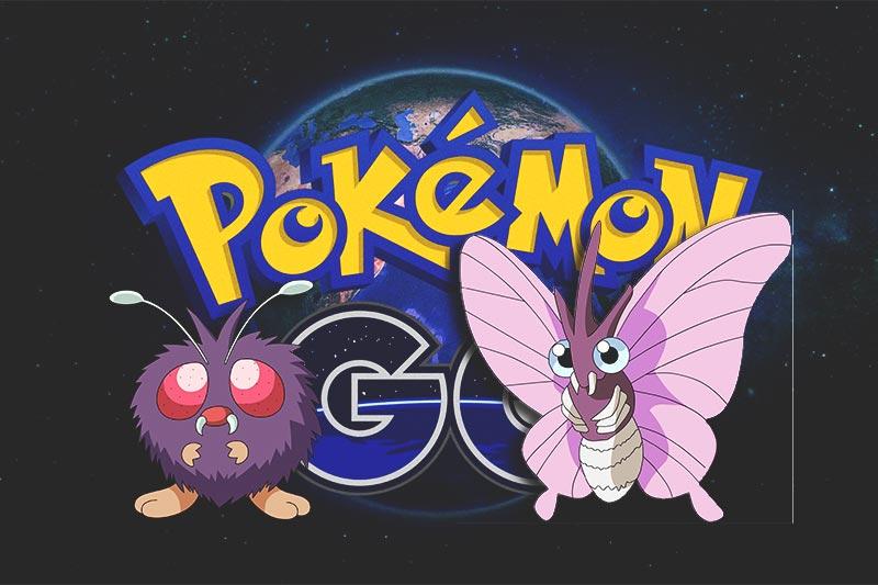 Como capturar a Venonat y Venomoth en Pokémon GO
